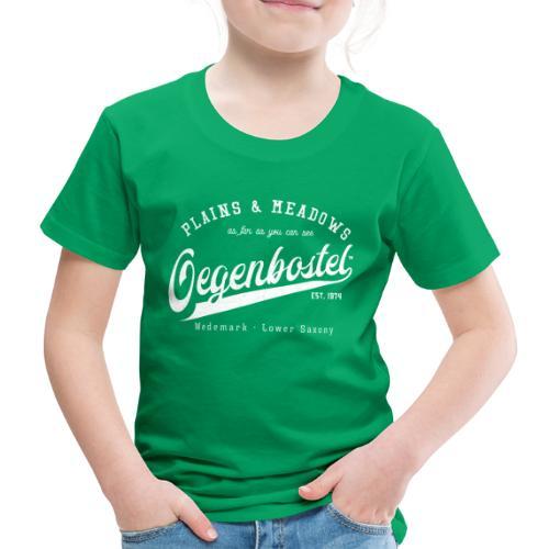 Oegenbostel Retrologo - Kinder Premium T-Shirt