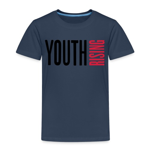 1br rev youth rising white - Kids' Premium T-Shirt