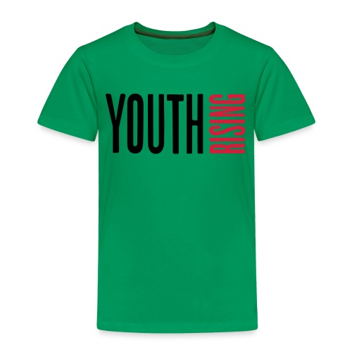 1br rev youth rising white - Kids' Premium T-Shirt