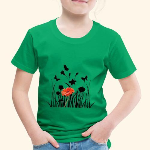 Flower Pover - Kinder Premium T-Shirt
