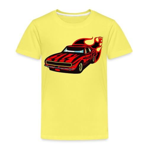 auto fahrzeug rennwagen - Kinder Premium T-Shirt