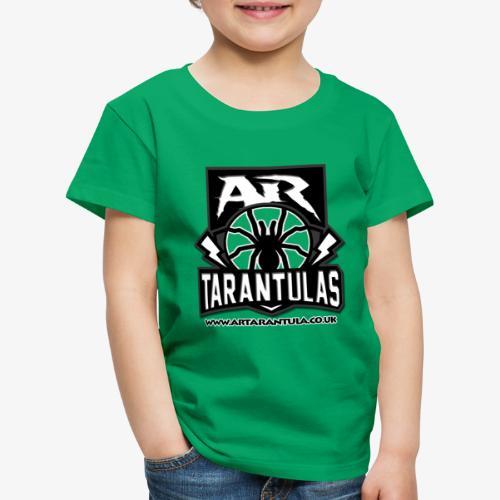 BW AR Tarantula logo - Kids' Premium T-Shirt