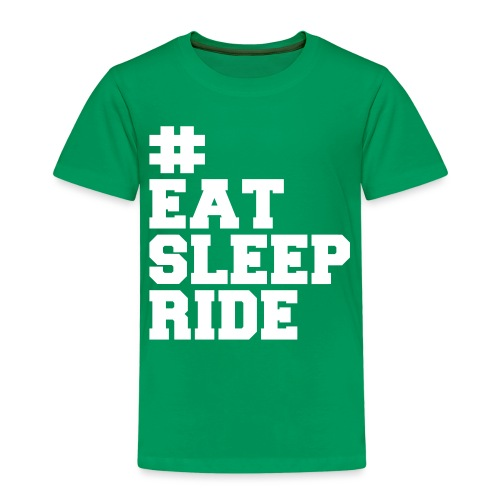 Eat, sleep, ride! - Kinder Premium T-Shirt