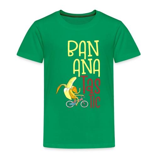Bananatastic - Sportliche Banane Chill out - Kinder Premium T-Shirt