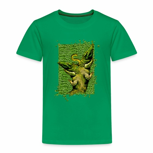 Piel cocodrilo - Crocodile skin - Camiseta premium niño