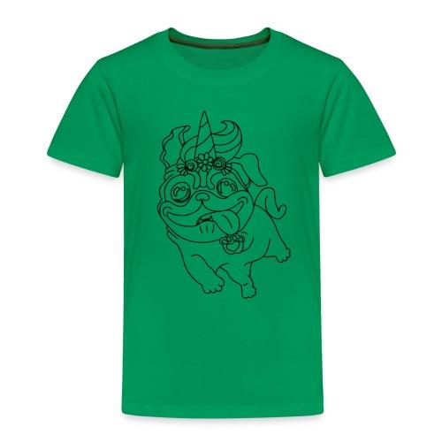 Pugicorn - Kinder Premium T-Shirt