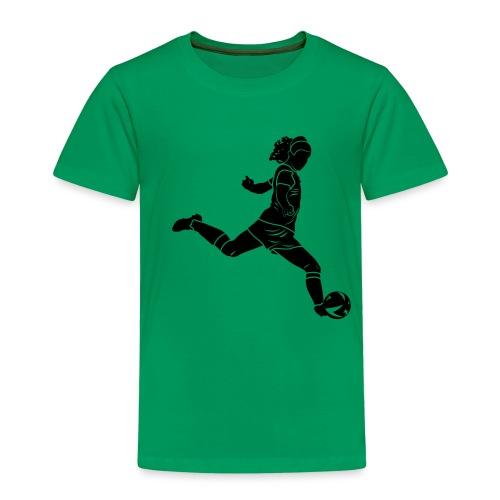 Footballeuse - T-shirt Premium Enfant