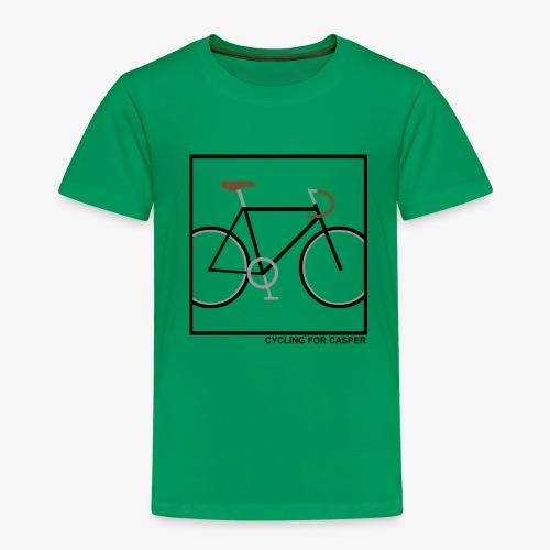 Fixie in square - Kinderen Premium T-shirt