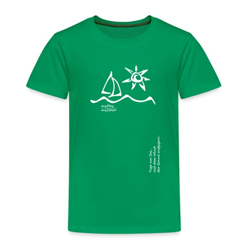 Der Sonne entgegen!.. - Kinder Premium T-Shirt