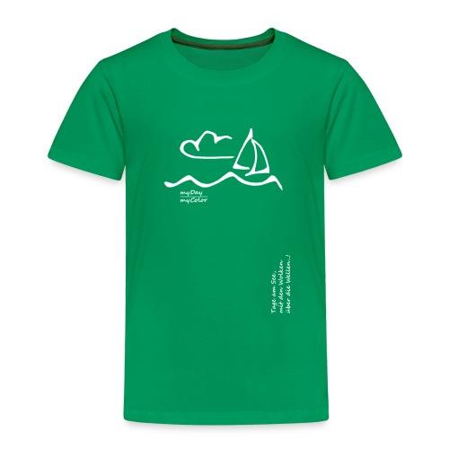 Über die Wellen!.. - Kinder Premium T-Shirt