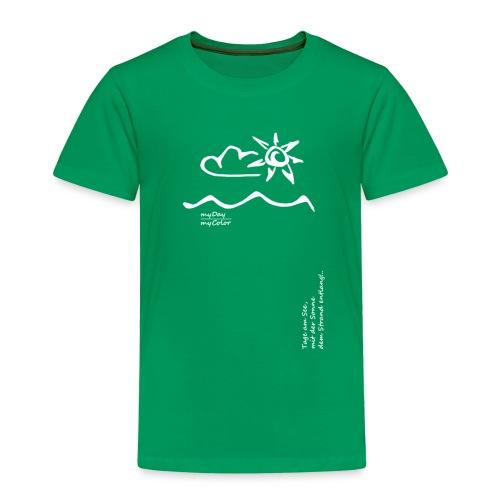 Dem Strand entlang!.. - Kinder Premium T-Shirt