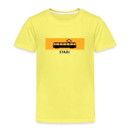 RATIKKA PYSÄKKI KYLTTI STADI T-paidat ja vaatteet - Lasten premium t-paita