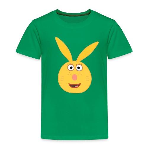 Häschen Mina - Kopf gross - Kinder Premium T-Shirt