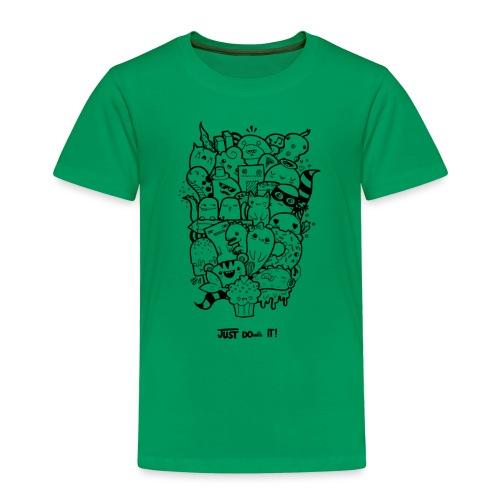 Just Doodle it Black - Kinder Premium T-Shirt