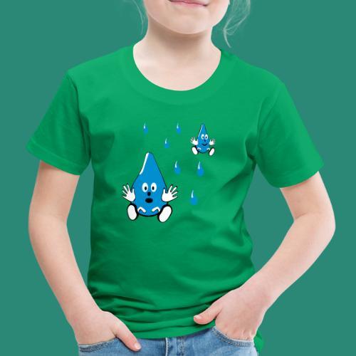 Tropfen - Kinder Premium T-Shirt