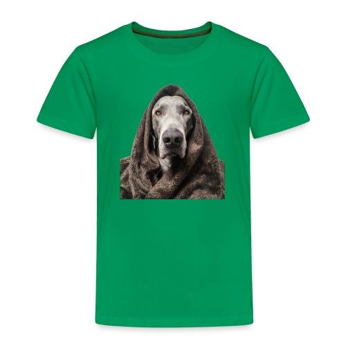Weimaraner-Fake-Fur - Kinder Premium T-Shirt