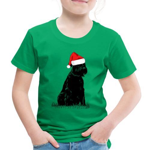 Riesenschnauzer Weihnachten Schnauzer Hund - Kinder Premium T-Shirt