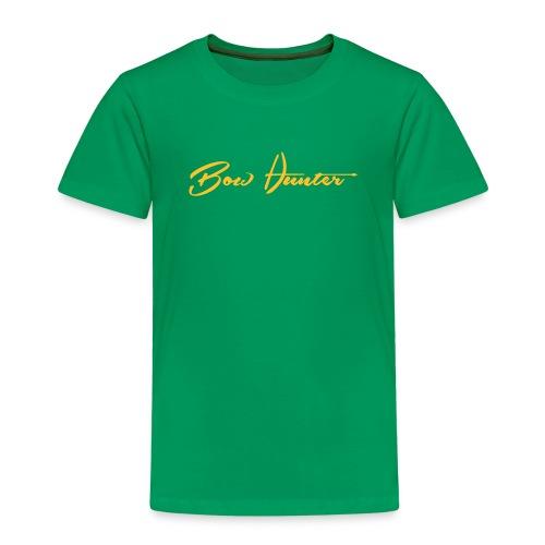 Bowhunter Schriftzug - Kinder Premium T-Shirt