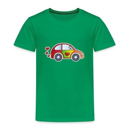 Kids Car Spielzeugauto Herzen bunt fröhlich Kinder - Kids' Premium T-Shirt