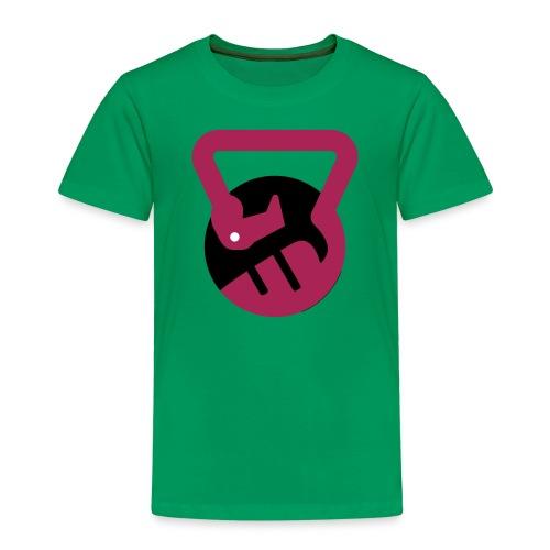 flamingo fitness logo - Børne premium T-shirt