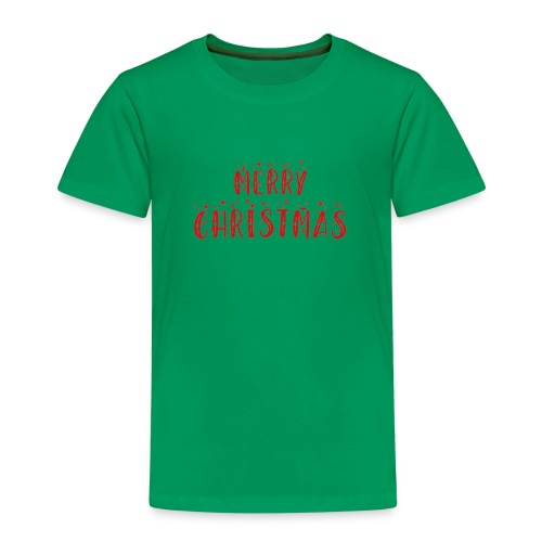 Merry Christmas - Kinder Premium T-Shirt