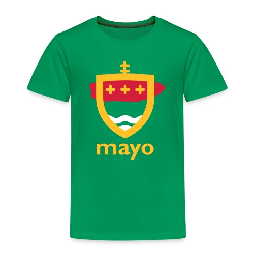 mayo artwork crest - Kids' Premium T-Shirt
