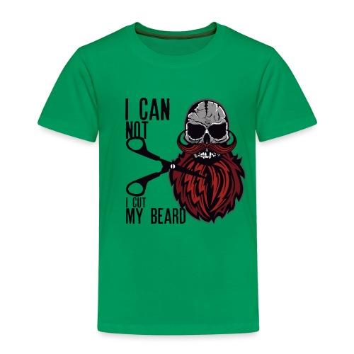 tete de mort citation skull hipster crane moustach - T-shirt Premium Enfant