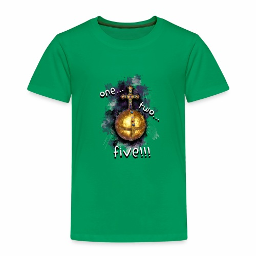 holy hand grenade of antioch - Camiseta premium niño