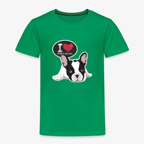 bulldog francese 3 - Maglietta Premium per bambini
