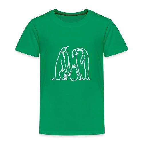 Pinguin Familie Familienshirt Tierfreunde Geschenk - Kinder Premium T-Shirt