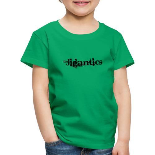 The Jigantics - black logo - Kids' Premium T-Shirt