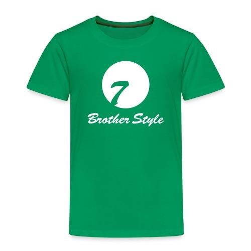 Brother Style Logo 3 - Kinder Premium T-Shirt