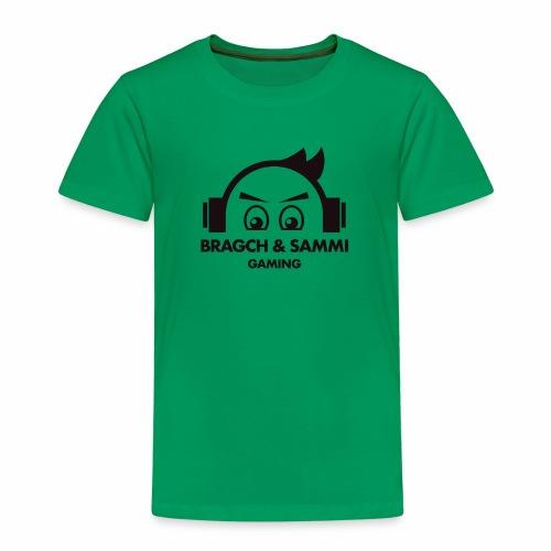 BS game black - Premium T-skjorte for barn