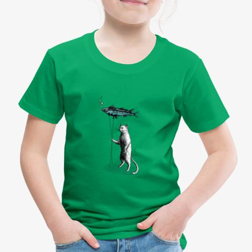 Cat Balloon - Kids' Premium T-Shirt