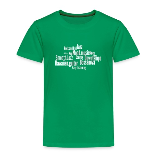 House Music Genres - Kids' Premium T-Shirt