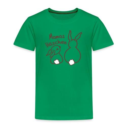 Mamas Häschen, Hase, Ostern - Kinder Premium T-Shirt