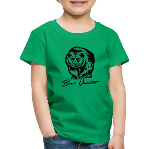 Bear Bowhunter - Kinder Premium T-Shirt