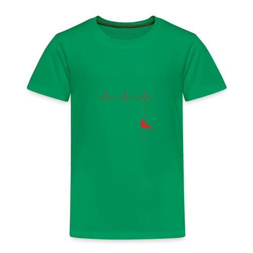 Love Rappelling ECG - Kids' Premium T-Shirt