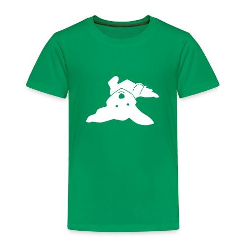 Havaneser auf dem Rücken - Kinder Premium T-Shirt