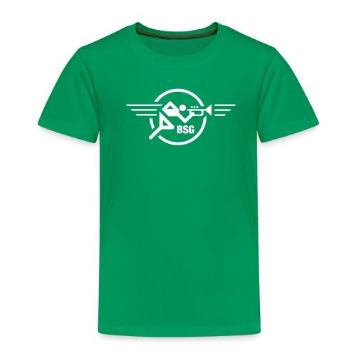 Trompeten-Runner für den Herrn - Kinder Premium T-Shirt