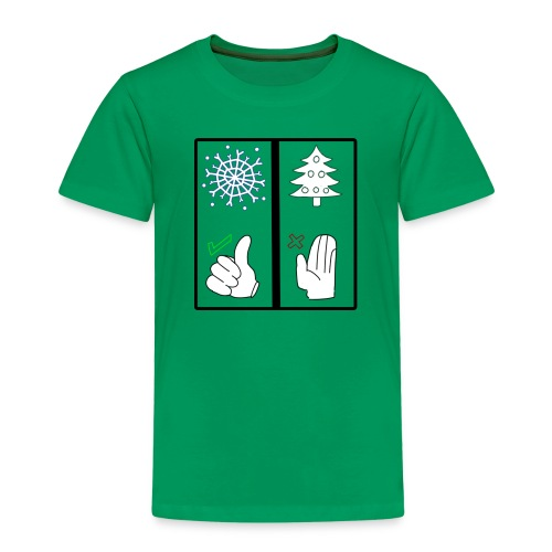 Anti Xmas T Shirt Schnee - Kinder Premium T-Shirt