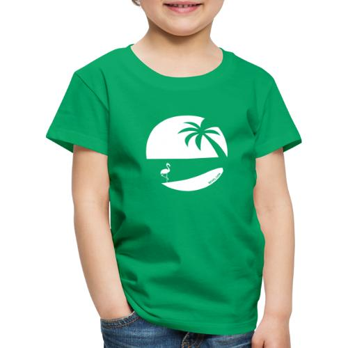 Logo French Floridian blanc - T-shirt Premium Enfant