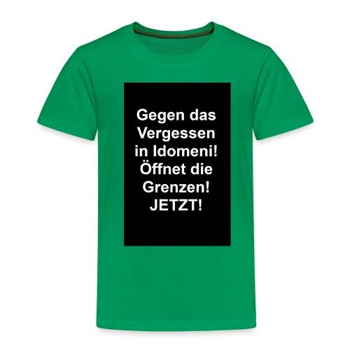 Gegen das Vergessen - Kinder Premium T-Shirt