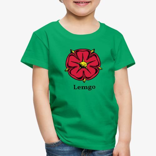 Lippische Rose mit Unterschrift Lemgo - Kinder Premium T-Shirt