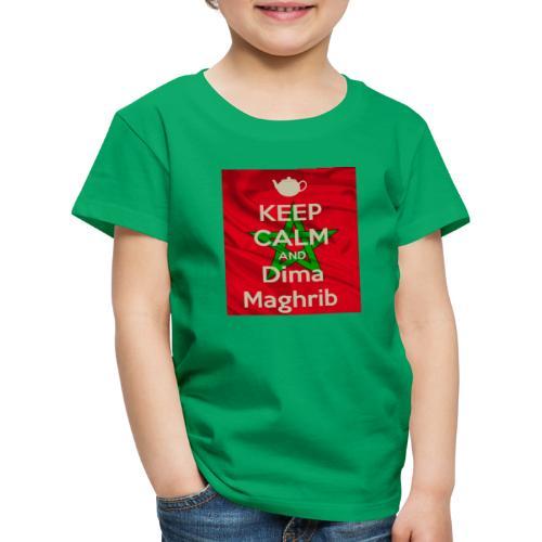 keep calm and dima maghrib - T-shirt Premium Enfant