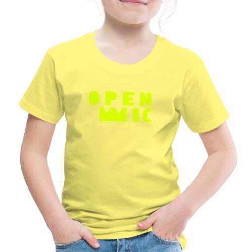 openMIC Huesca - Camiseta premium niño