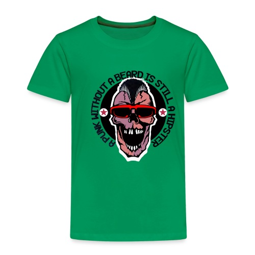 tete de mort hipster punk citation humour crane sk - T-shirt Premium Enfant