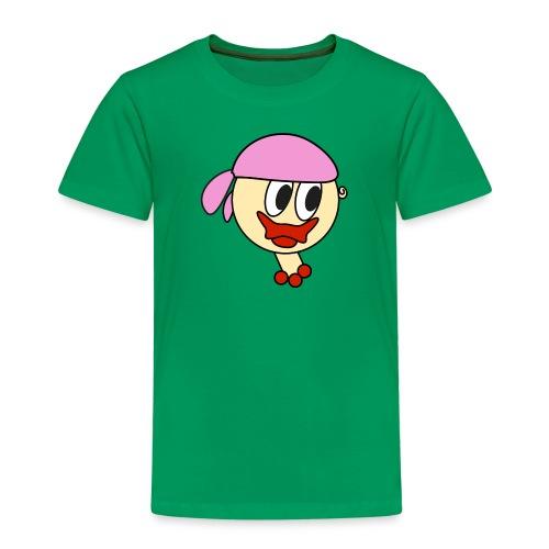 bandana girl - Kinder Premium T-Shirt