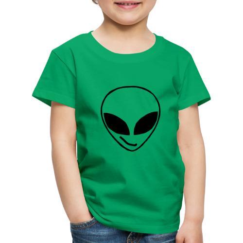 Alien simple Mask - Kids' Premium T-Shirt