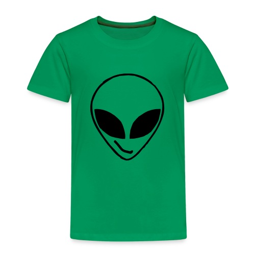 Alien simple Mask - Kids' Premium T-Shirt